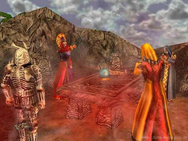 Скриншот из игры Ultima 9: Ascension под номером 5. Текущий показываемый ск